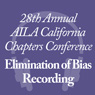 Elimination of Bias - Recording (.MP3)