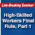 High-Skilled Workers Final Rule, Part 1: Nonimmigrants-Live