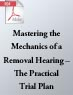 Mastering the Mechanics of a Removal Hearing – The Practical Trial Plan (.PDF)