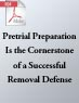 Pretrial Preparation Is the Cornerstone of a Successful Removal Defense (.PDF)