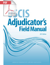 USCIS Adjudicators Field Manual, 2013 Ed. (.PDF)