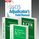 INA/CFR & Adjudicator's Field Manual Combo