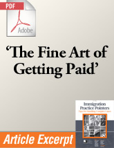 The Fine Art of Getting Paid (.PDF)