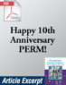 Happy 10th Anniversary PERM! (.PDF)