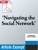 Navigating the Social Network (.PDF)