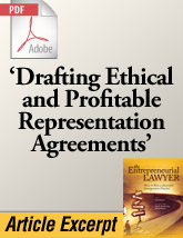 Drafting Ethical and Profitable Representation Agreements (.PDF)