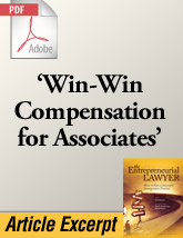 Revenue-Based Compensation Plans for Associate Attorneys (.PDF)