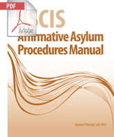 USCIS Affirmative Asylum Procedures Manual (.PDF)
