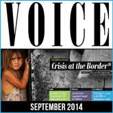 Voice (September 2014): Crisis at the Border